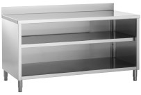 Arbeitstschrank offen B 1400 x T 600 x H 850 mm